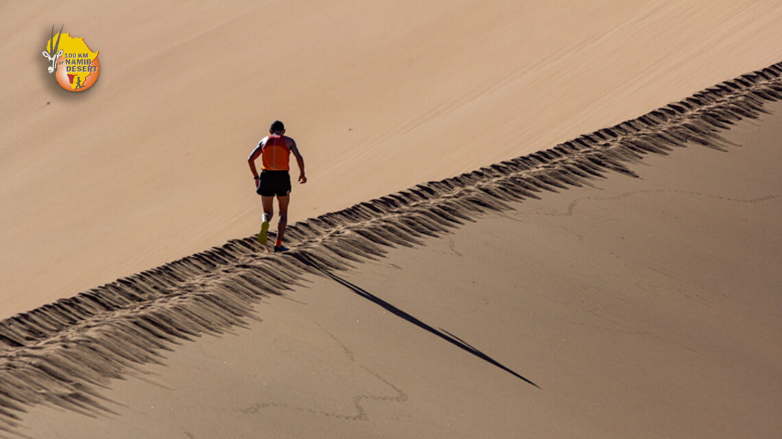 100km of Namib Desert